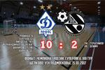 Dynamo put ten past Sinara as the Yekaterinburg side suffer worst loss